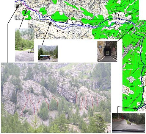 Les Marecottes, Switzerland: Rochers d'escalade