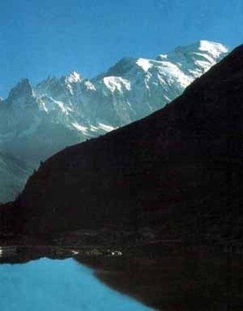 Les Marecottes, Switzerland: Emosson et Mont Blanc