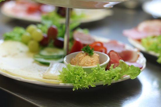Friedrichskoog, Alemania: Frühstück über zwei Ebenen
