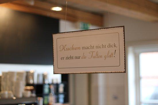 Friedrichskoog, Alemania: Ein Spruch zum Einprägen
