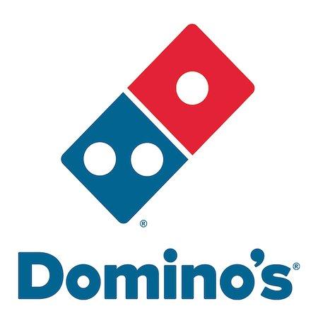 Évry, France : Logo domino's pizza