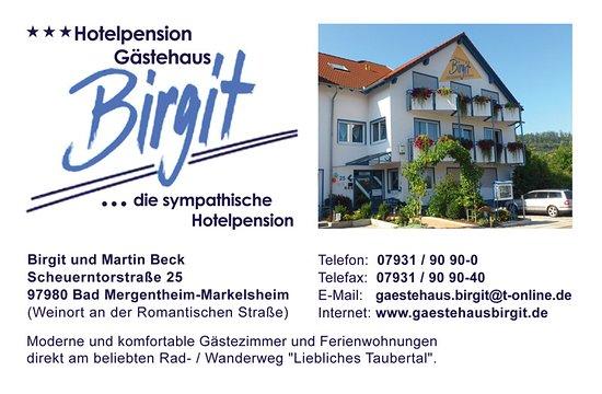 Hotelpension Gastehaus Birgit