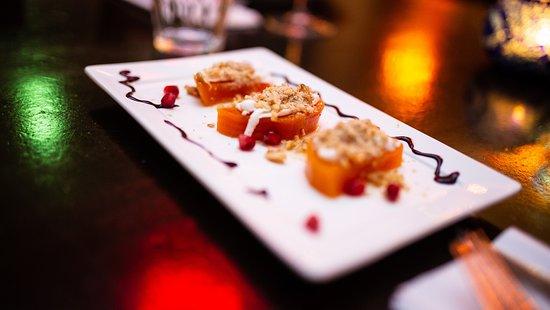 Lekker pompoen dessert! mediterraans restaurant  amsterdam . Restaurant Maydanoz