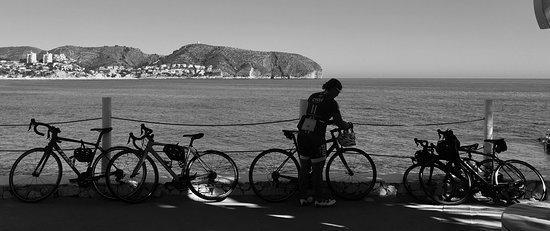Costa Blanca, Spain: Costal cycle.