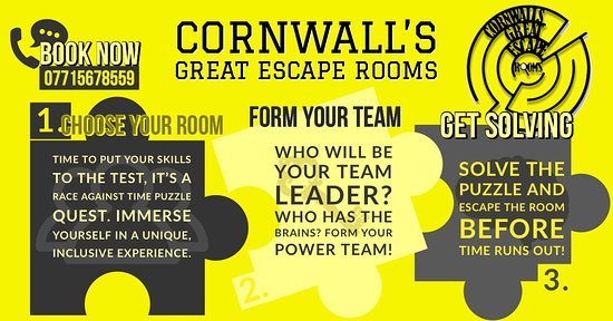Cornwalls Great Escape Rooms Ltd