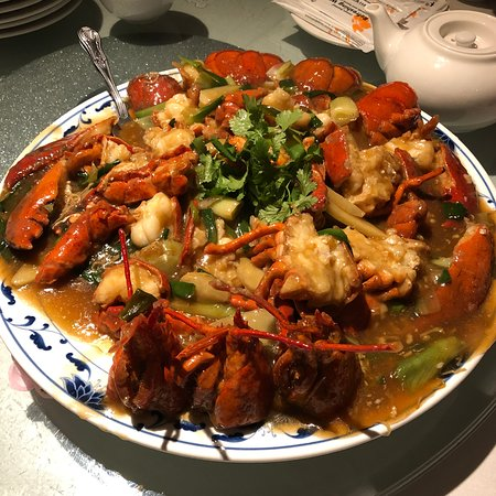 Lobster noodles - Picture of Mandarin
