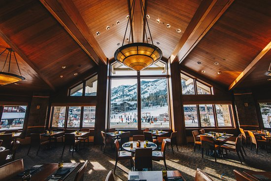 Westbank Grill At Four Seasons Jackson Hole Teton Village