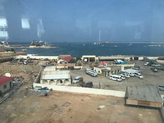 Berbera, โซมาเลีย: view from roof top dining