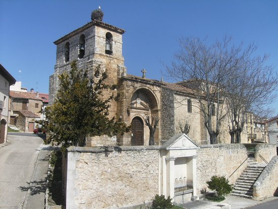 Banos de Valdearados, Ισπανία: Iglesia de Nuestra Señora de la Asunción