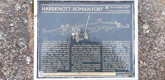 A great place to walk to from the front door 'Hardknott Roman Fort'