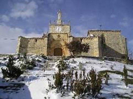 Banos de Valdearados, Ισπανία: Ermita del Santo Cristo nevado
