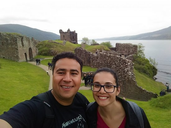 Urquhart Castle : Viagem pelas terras altas