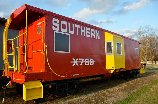 Southern x760 in Piedmont, Alabama, Old Train Station