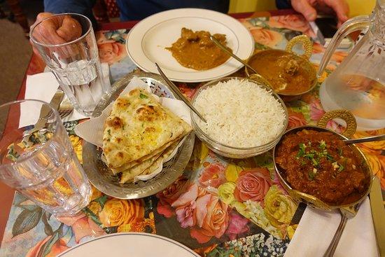 Sangam Indian Restaurant: Основное блюдо
