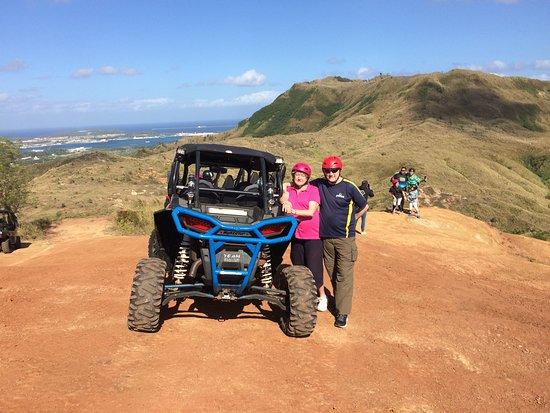 Santa Rita, Quần đảo Mariana: On top of the hills