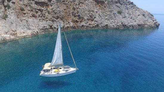 Sailing Chania