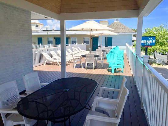 Balcony - Picture of White Marlin Inn, Ocean City - Tripadvisor