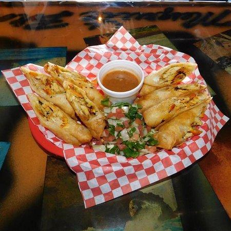Chuy's Baja Sticks, very tasty appetizer.
