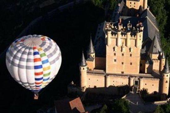 Varmluftsballongkjøring over Toledo...