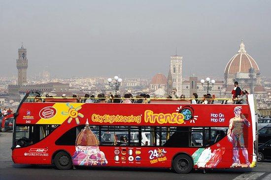 Tour de Florence en bus à arrêts...