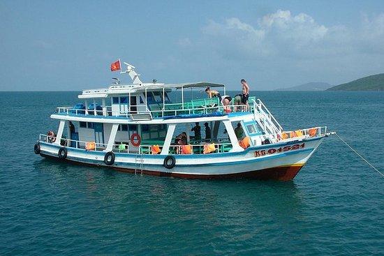 富国岛一日游包括浮潜和日落钓鱼