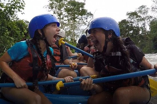 White Water Rafting Tenorio River...