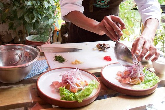 Pruebe la cocina gourmet peruana con...