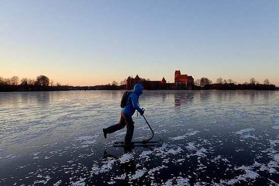 Trakai Winter Adventure con Kicksledge