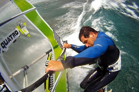 Windsurfing Course for Beginners in...