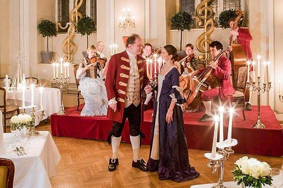 Mozart konsert og middag i...