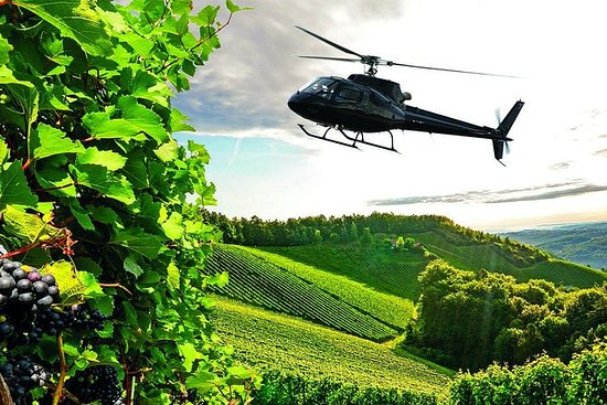 Helicopter Wine Tour with Pickup in...