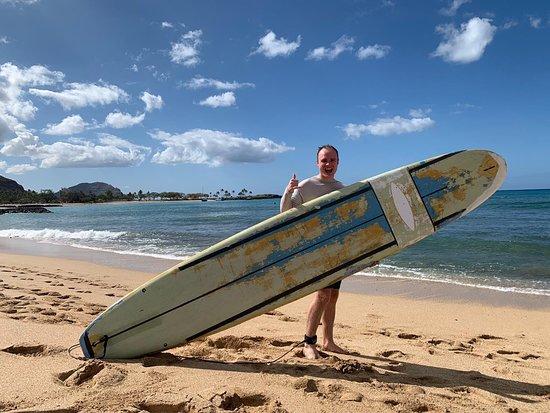 Fantastic morning surfing