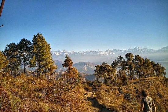 Nagarkot panoramautsikt