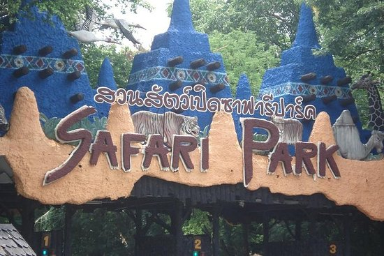 Bangkok Safari World Ticket med...