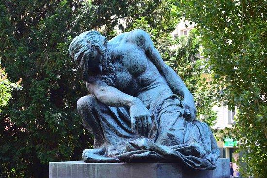Statue of Moses by František Bílek