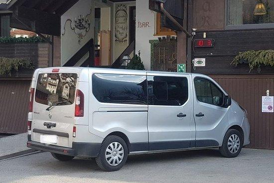 Transfert en taxi: aéroport de Venise...