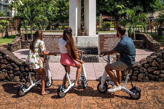Elektrisk scootertur, ONEmile...