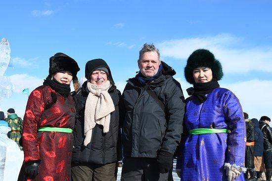 Khovsgol Province, منغوليا: Ice festival