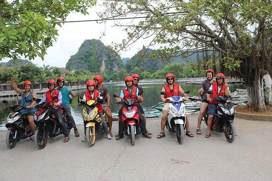 Ninh Binh motorsykkel tur halv dag