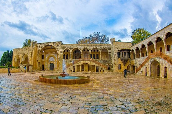 Deir El Qamar, Beiteddine Palace og...