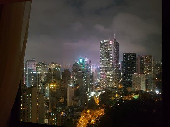 A great hotel in Hong Kong.