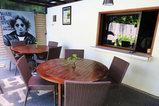 Pergola Sitting area