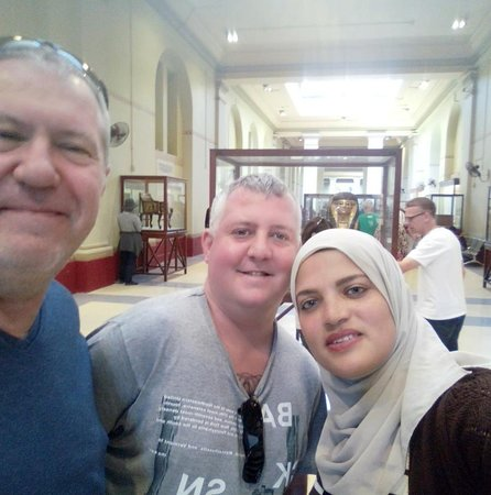 Egypt Tours Fayda With Best Friends