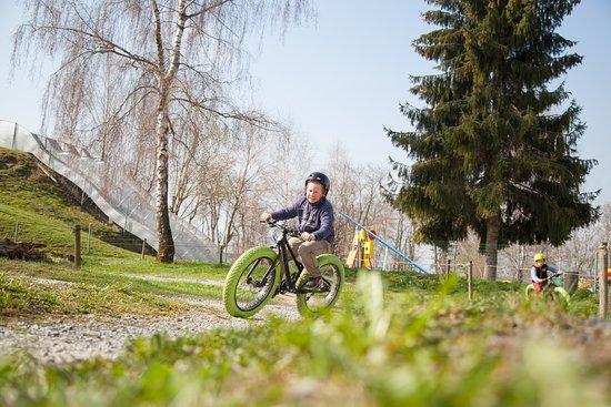 Schongau, Sveits: Bike-Bahn