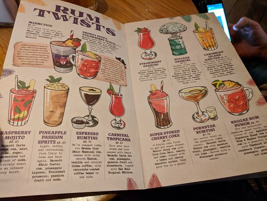 Great cocktails