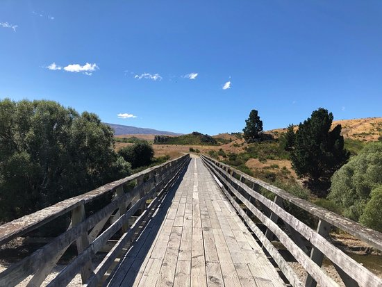 Middlemarch, Nowa Zelandia: On the Central Otago Rail Trail