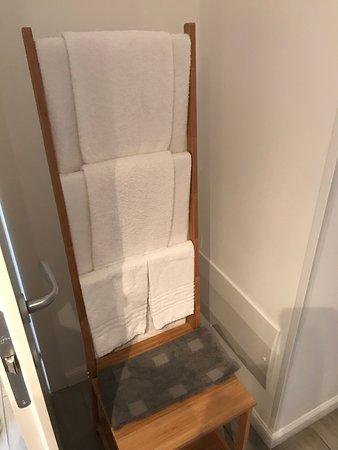 Il porta asciugamani
