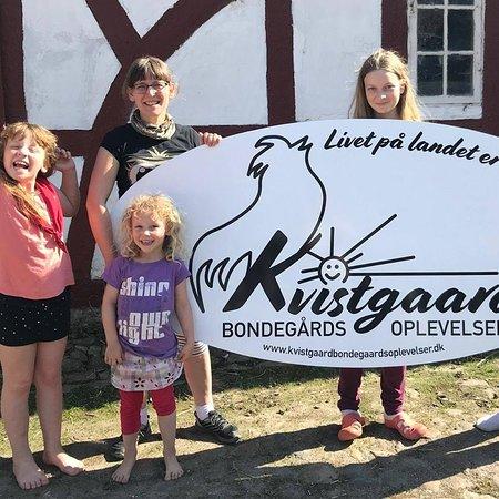 Langeskov, Danmark: Familien Kvistgaard Kamuk