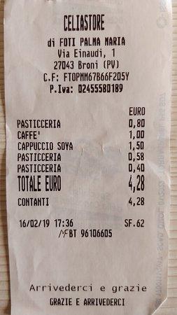 Broni, Italie: Celiastore Alla Rotonda