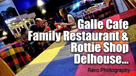 Nallathanniya, Srí Lanka: No 1. Galle Cafe Family Restaurant & Rottie Shop